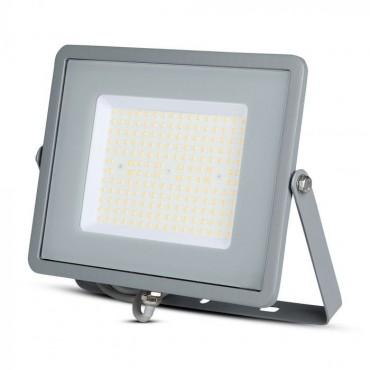 Proiector LED 100W Cip Samsung 120lm/W Corp Gri Alb Rece