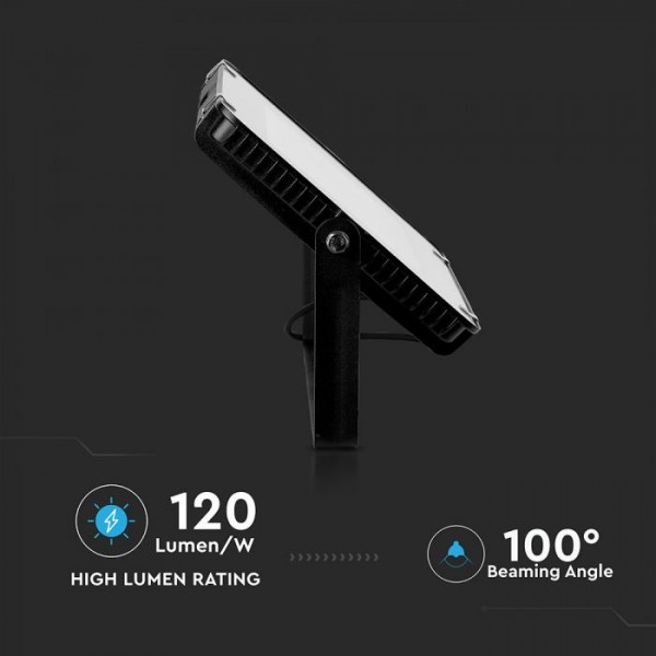 Proiector LED 200W Cip Samsung 120lm/W Corp Negru Alb Rece