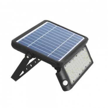 Proiector LED solar 5W Alb Neutru Corp Negru