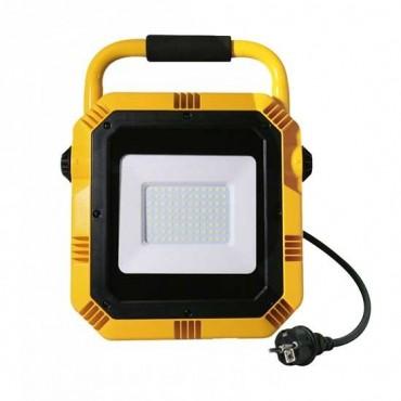 Proiector LED de lucru 50W Cip Samsung Alb Neutru