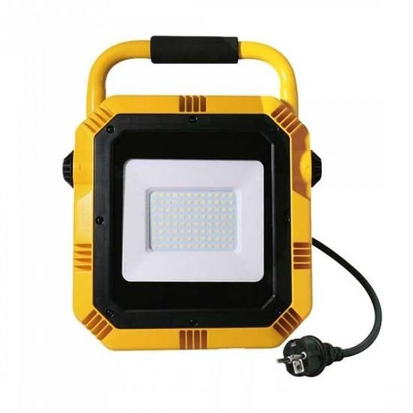 Proiector LED de lucru 50W Cip Samsung Alb Rece