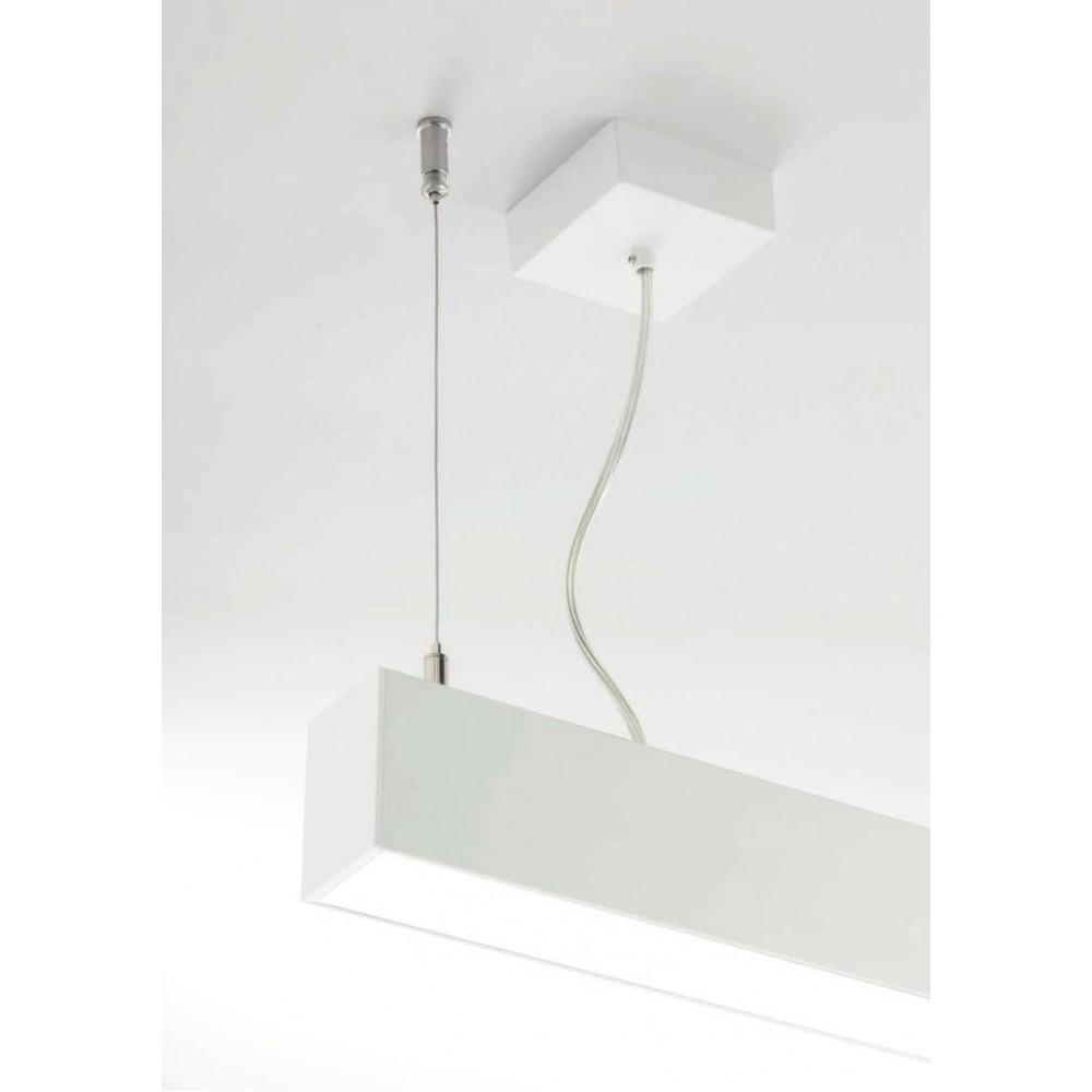 Corp de iluminat cu LED 29.4W suspendat XROPE 1140mm Corp Alb Alb Neutru