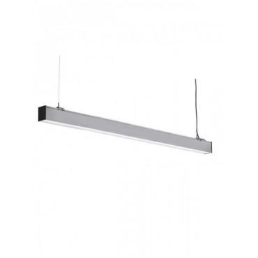 Corp de iluminat cu LED interconectabil suspendat 60W CIP SAMSUNG 120cm Slim Alb Neutru Corp Argintiu - iluminare sus/jos