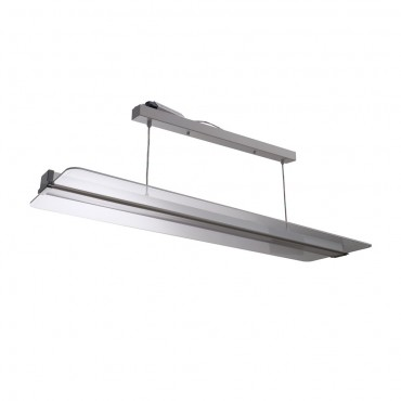Panou LED dimabil 40W 120x30cm transparent montaj suspendat Alb Neutru