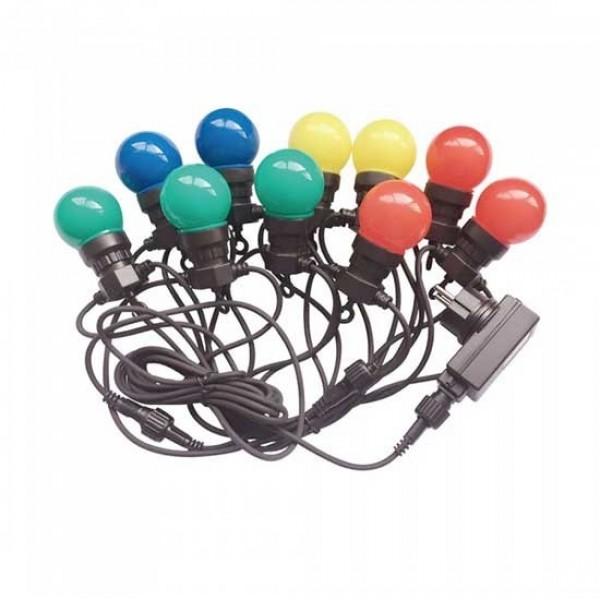 Sir de lumini LED cu 10 becuri...