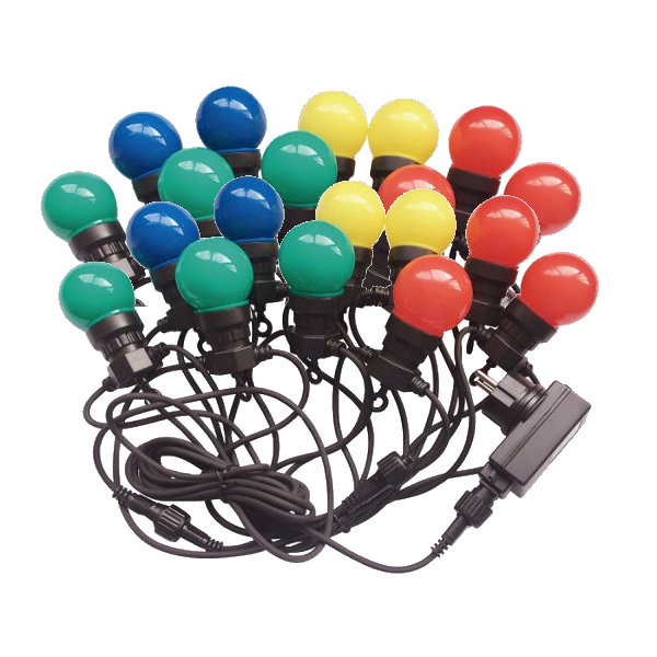Sir de lumini LED cu 20 becuri...