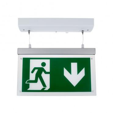 Lampa LED de urgenta 2W montaj suspendat