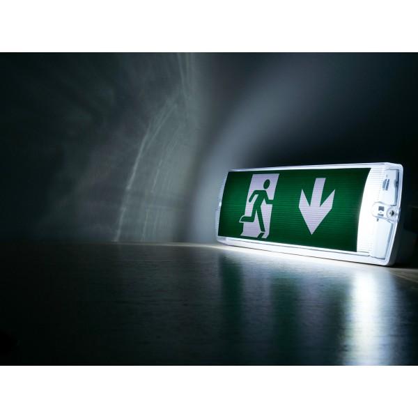 Lampa LED de urgenta 4W cip Samsung montaj aparent