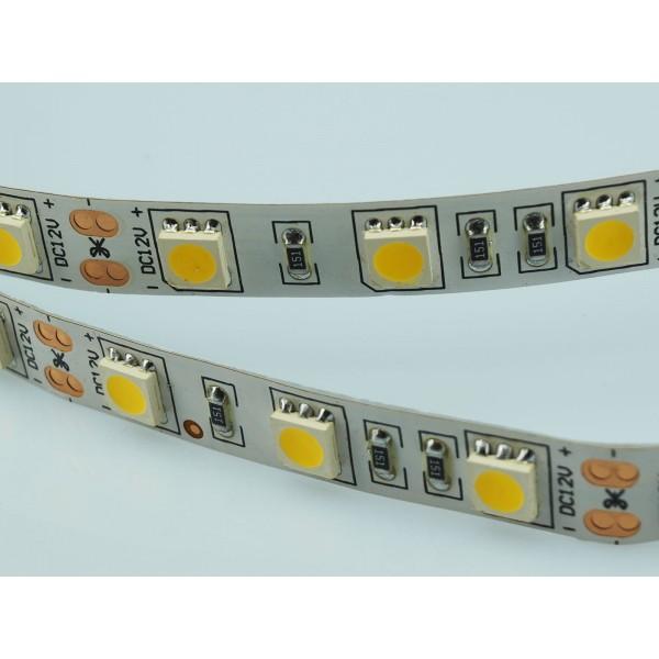 Banda LED SMD5050 60 LED IP20 Alb Cald
