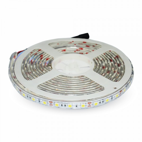 Banda LED SMD5050 30 LED IP65 Alb Neutru