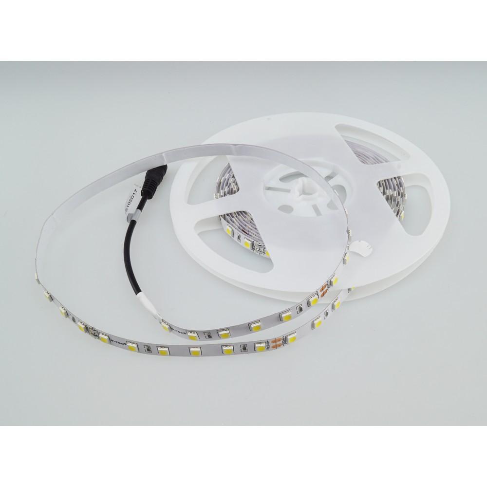 Banda LED SMD5050 60 LED 24V IP20 Alb Neutru