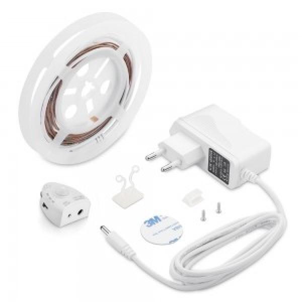 Banda LED cu senzor pentru pat single Al...