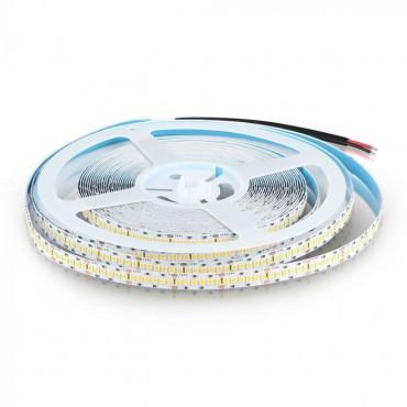 Banda LED cu CIP SAMSUNG SMD2835 240 LED 24V Alb Cald