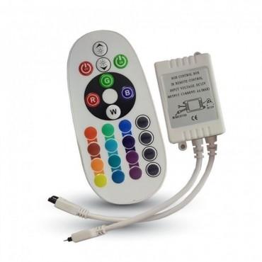 Controler cu Telecomanda Infrarosu 24 Butoane