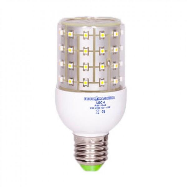 Bec LED Lec 4W E27 - lumina ca...
