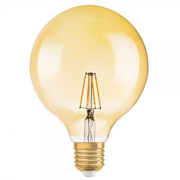 Bec LED Filament 4W E27 Glob O...