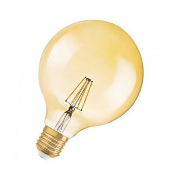 Bec LED Filament 4.5W E27 Glob Osram Vintage Amber - lumina calda
