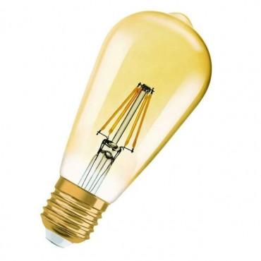 Bec LED Filament 4.5W E27 Osram Vintage Amber - lumina calda