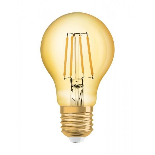 Bec LED Filament 4W E27 A60 Osram Vintage Alb Cald