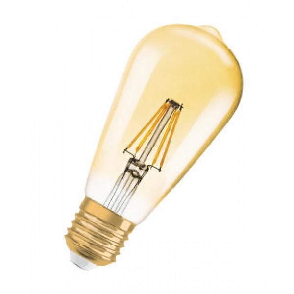 Bec LED Filament 7.5W E27 Dimabil Osram Vintage Amber - lumina calda