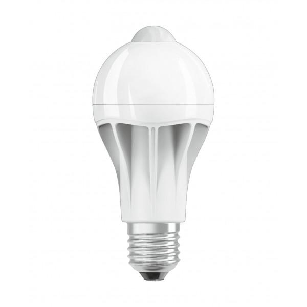 Bec LED 11.5W E27 Osram cu senzor de miscare Alb Cald