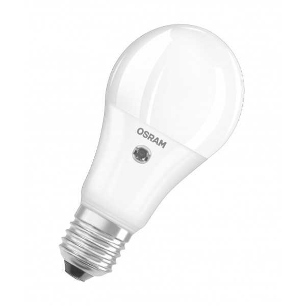 Bec LED 11W E27 Osram cu senzor crepuscular Alb Cald