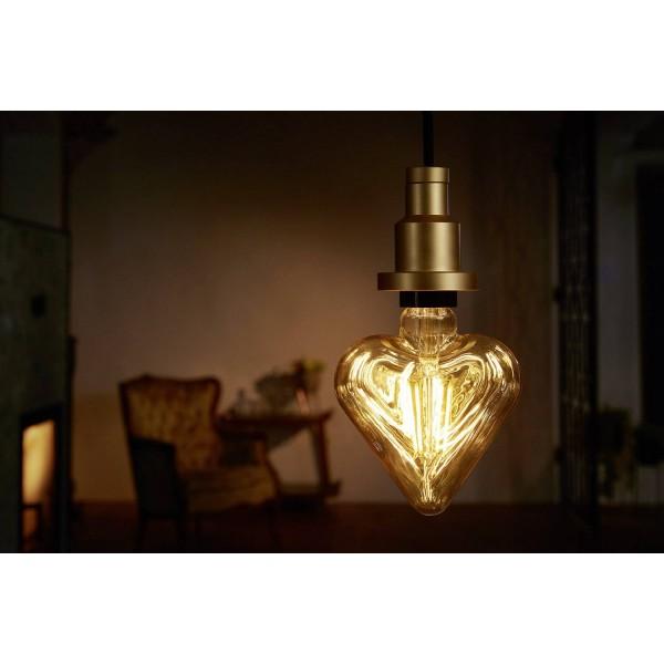 Bec LED Filament 4.5W E27 Inima Osram Vintage Alb Cald