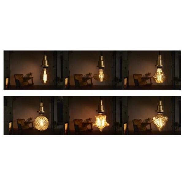 Bec LED Filament 4.5W E27 Stea Osram Vintage Alb Cald
