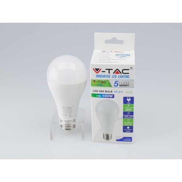 Bec LED 17W E27 A65 Cip SAMSUNG
