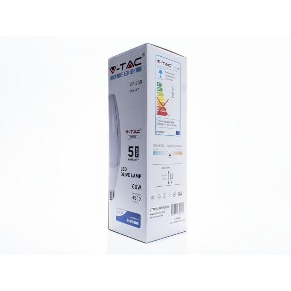 Bec LED 60W CIP SAMSUNG E40 Alb Neutru