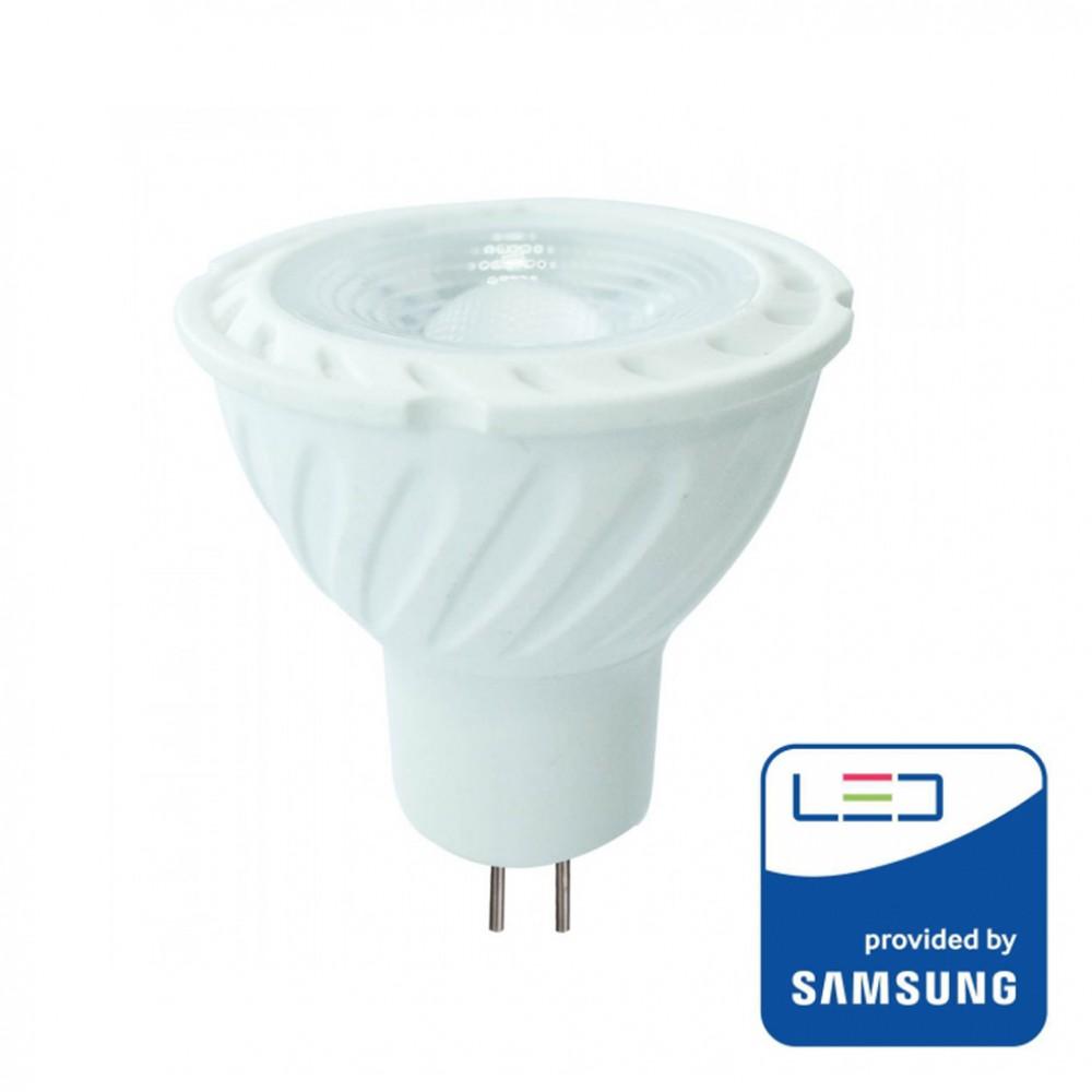 Bec spot LED cip SAMSUNG 6.50W GU10 Dimabil Alb Cald