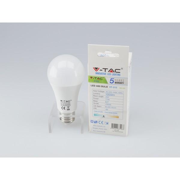 Bec LED 11W A60 E27 cu CIP SAMSUNG lumina rece