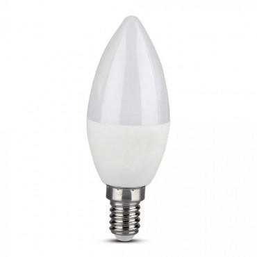 Bec LED lumanare smart 4.5W E14 compatibil cu Google Home si Amazon Alexa RGB-WW-CW