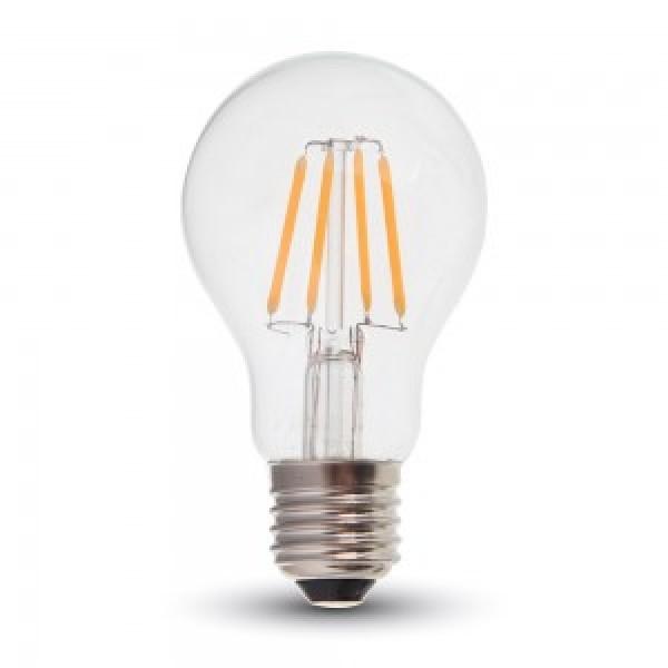 Bec LED 6W E27 A60 Samsung Chip Alb Cald...