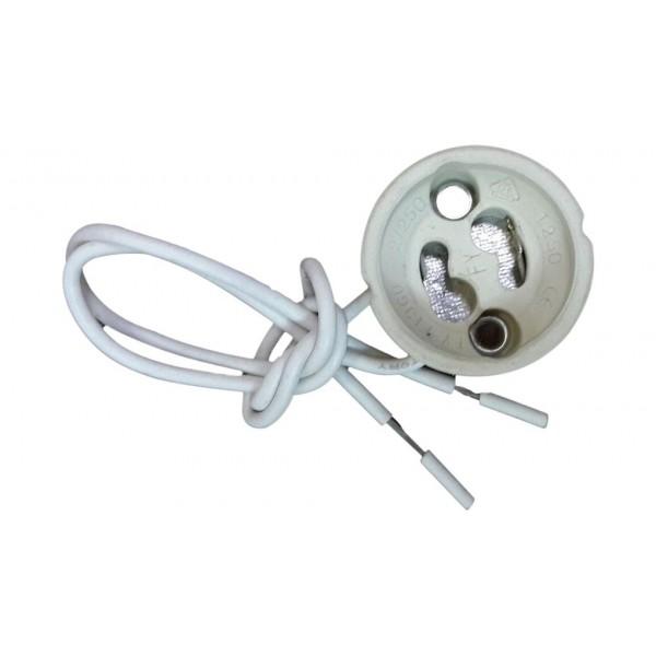 Suport ceramic GU10 cu cablu P...
