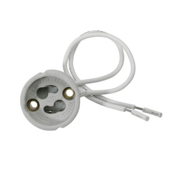 Suport ceramic GU10 cu cablu PVC