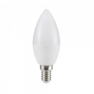 Bec LED 5.5W E14 Lumanare Alb Rece