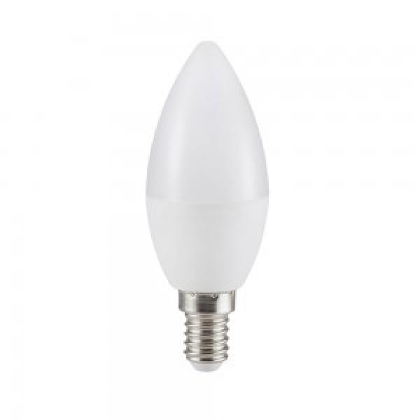 Bec LED 5.5W E14 Lumanare Alb ...