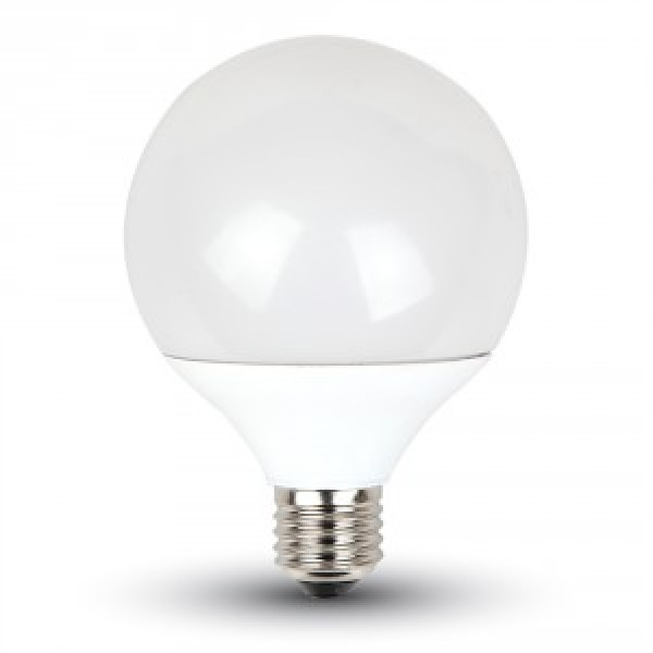 Bec LED 10W G95 Е27 Termoplastic Alb Ca...
