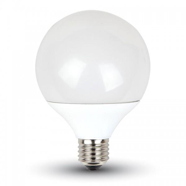 Bec LED 10W G95 Е27 Termoplastic Alb Cald