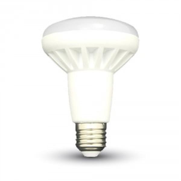 Bec LED 10W E27 R80 Alb Cald