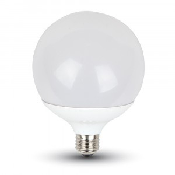 Bec LED 18W E27 G120 Termoplastic Alb Rece