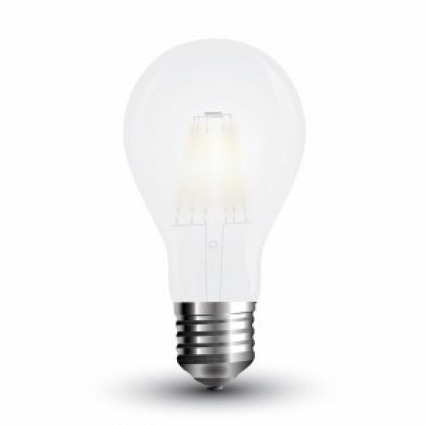 Bec LED Filament 8W E27 Mat A67 - lumina calda