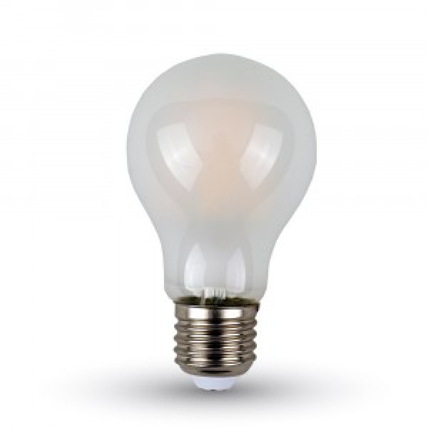 Bec LED Filament 7W E27 Mat - lumina calda