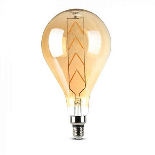Bec LED 8W E27 Filament G165 c...