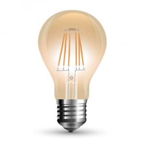 Bec LED Filament 10W E27 Amber A67 - lum...
