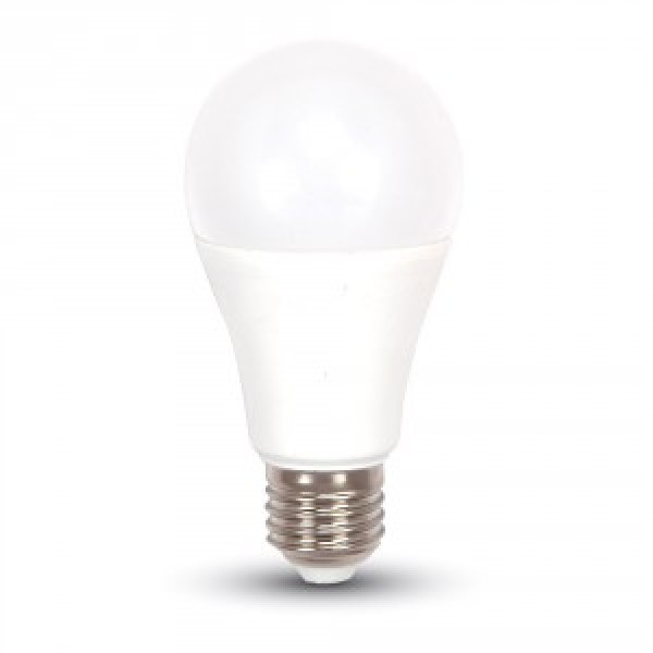 Bec LED 12W E27 A60 Termoplastic Alb Cald