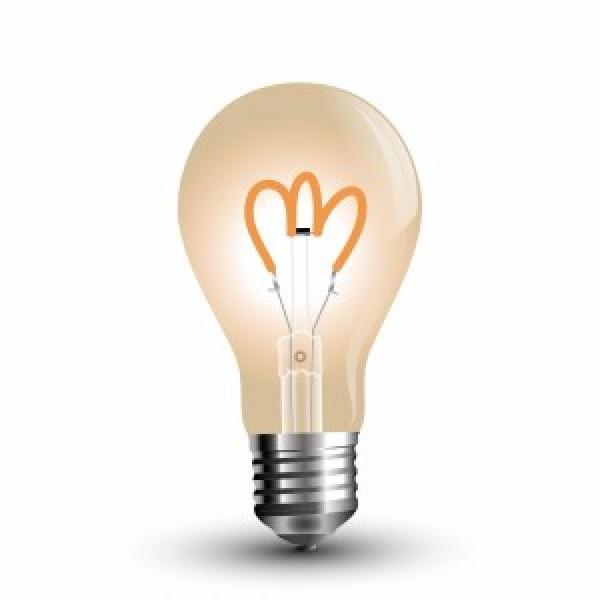 Bec LED Filament Curb 3W E27 A...
