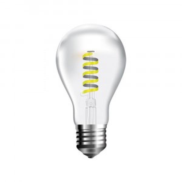 Bec LED Filament 4W E27 Lumanare rasucit...