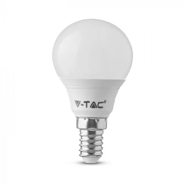 Bec LED 4.5W E14 P45 cu cip SAMSUNG Alb Neutru